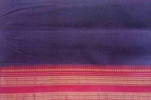 Violet Ilkal Sari Fabric