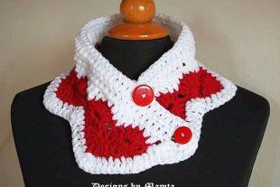Wear My Valentine Crochet Neckwarmer Pattern