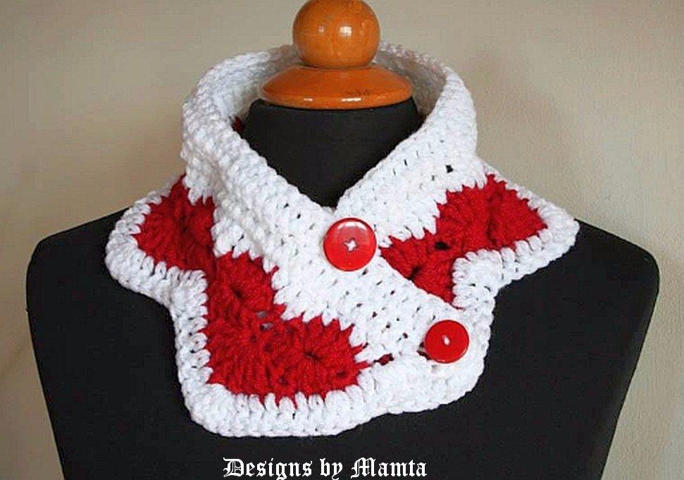 Wear My Valentine Crochet Neckwarmer Pattern A Cool Cowl For Women