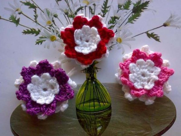Wholesale Crochet Flowers