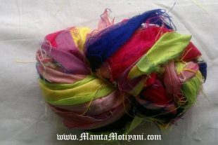Wisteria Garden Silk Ribbon Yarn