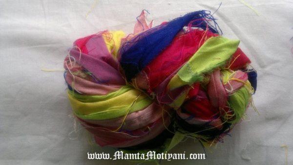 Wisteria Garden Silk Ribbon Yarn